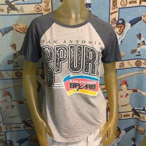 NBA San Antonio Spurs Classic Soft Thin Tee S